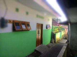 dikontrakan rumah di Jl. Mt. Haryono 4 kamar Kota malang