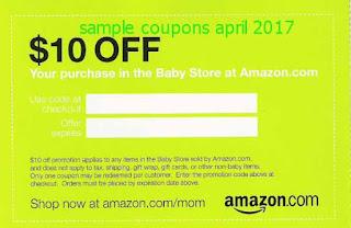 Amazon coupons april 2017