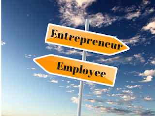 Menjadi pegawai atau pengusaha
