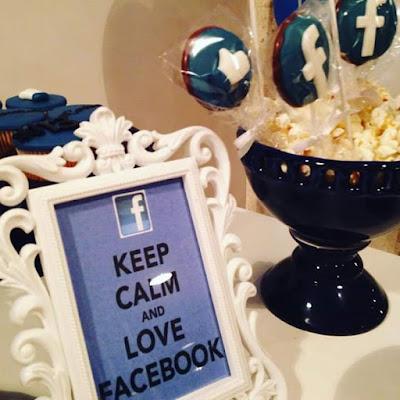 Resultado de imagem para decoração festa facebook