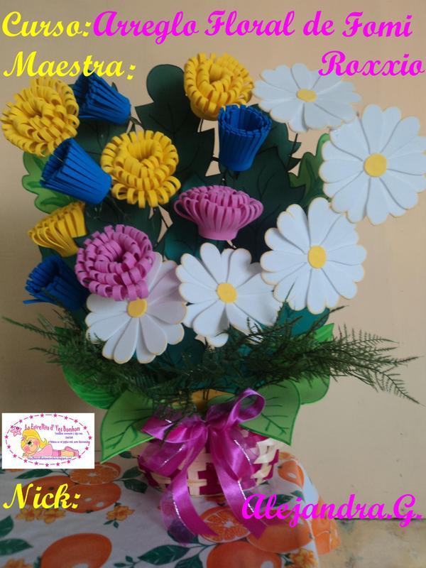 La Estrellita D Yes Bombom Arreglo Floral De Fomi