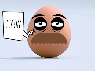 Este huevo lo está. Malo