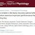 A ingestão de proteína no período de recuperação precoce após exercício exaustivo melhora o desempenho no dia seguinte