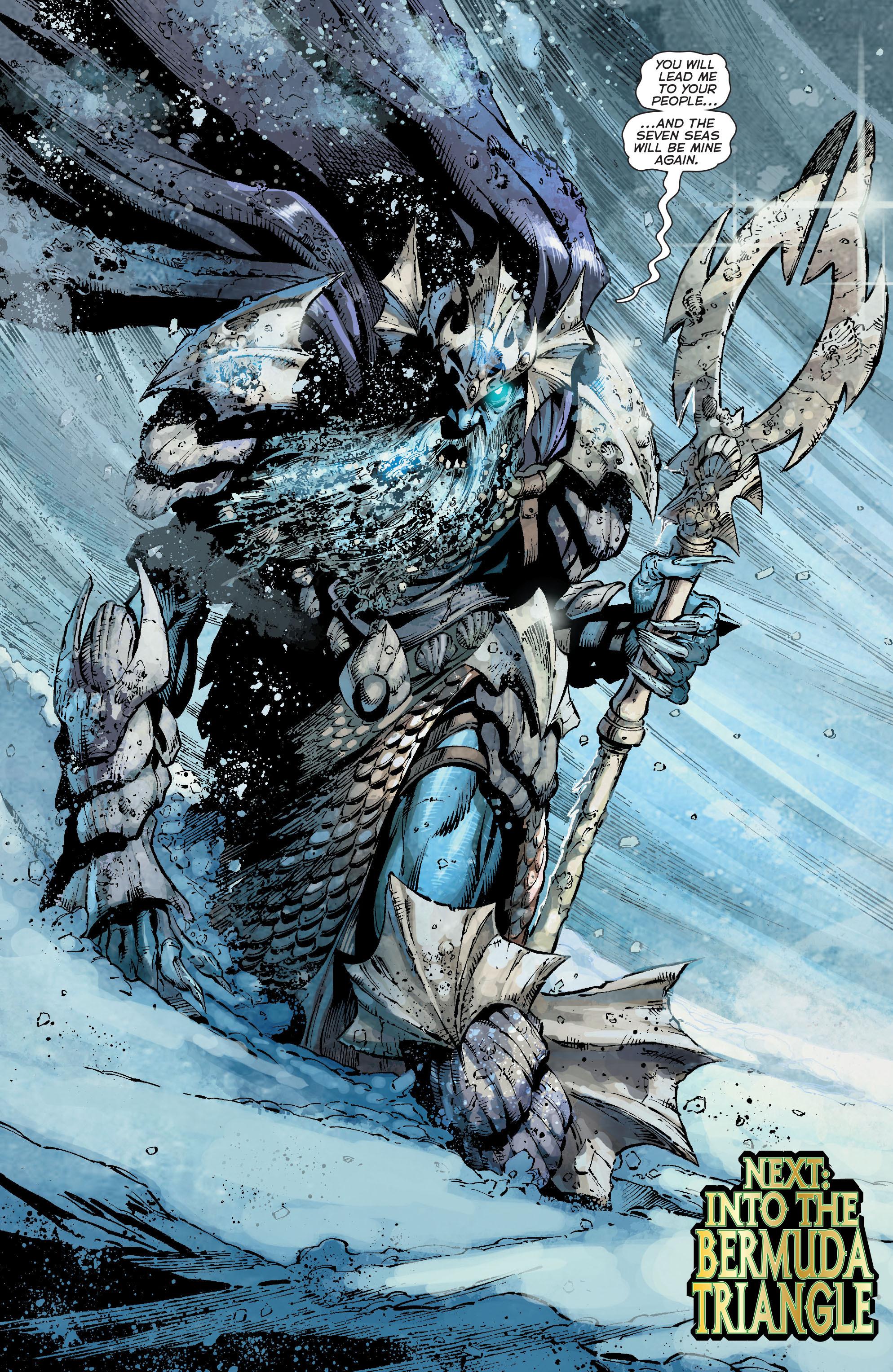 Read online Aquaman (2011) comic -  Issue #18 - 20