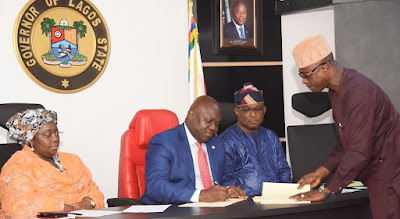 Ambode okays death penalty for kidnappers…signs ant-kidnapping, sporting bills into Law