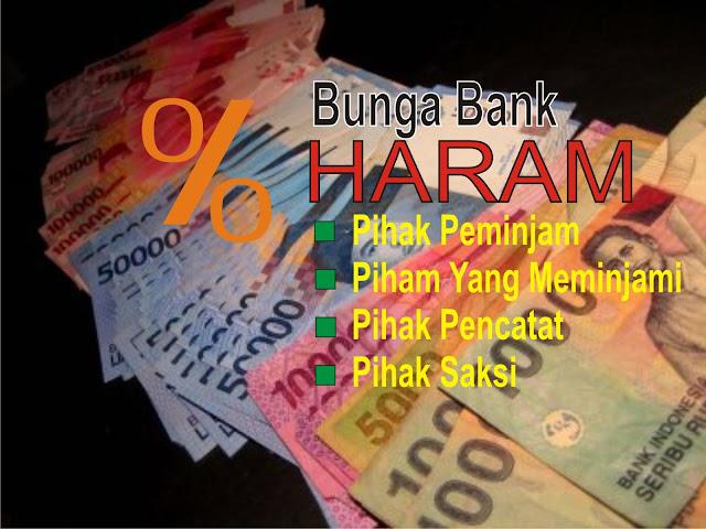 Hukum Haram Pinjam Uang di Bank