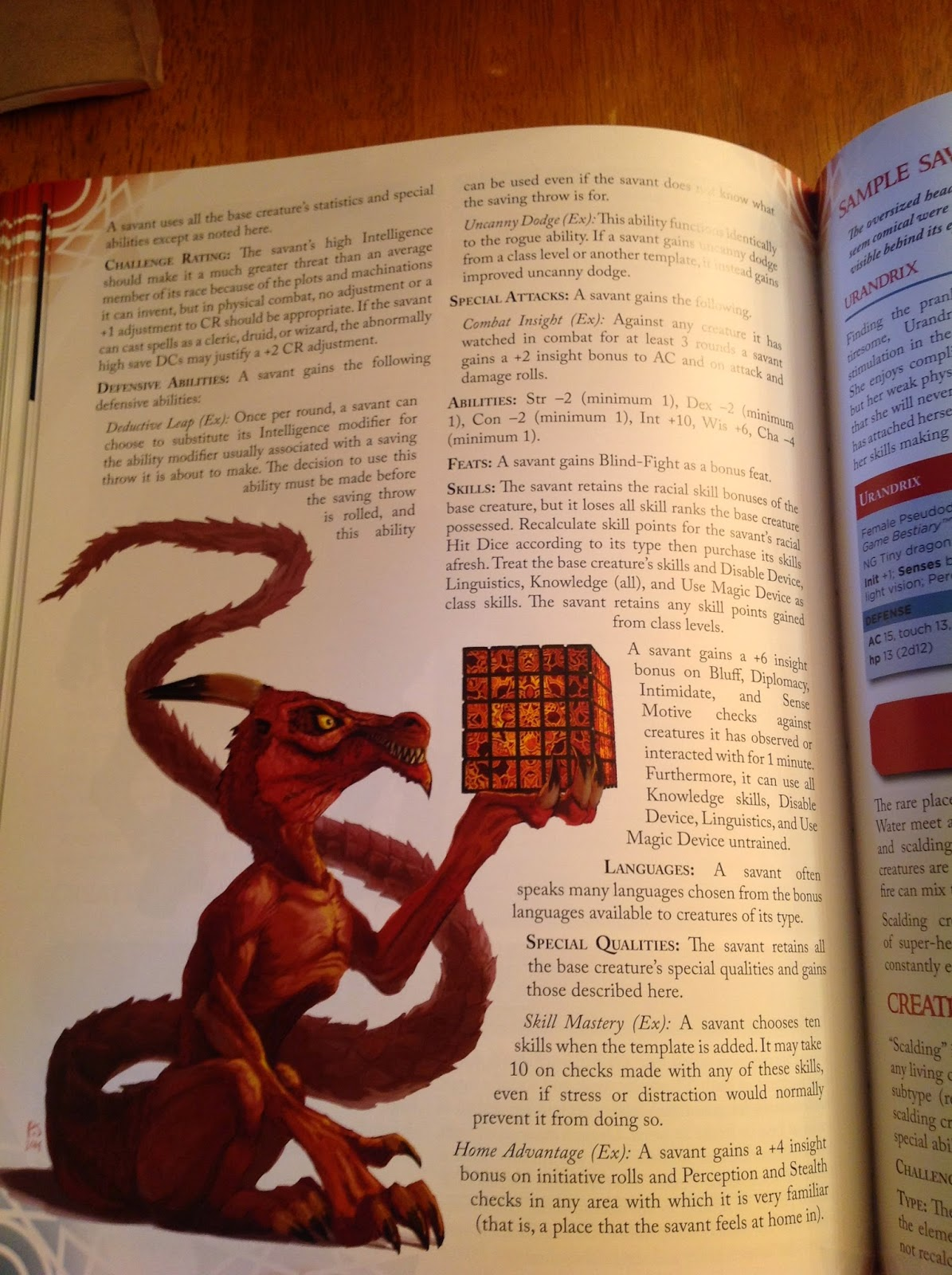 The Lair: Advanced Bestiary for Pathfinder