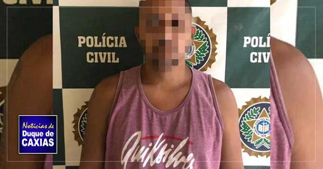 Acusado de dupla tentativa de homicídio é preso em Duque de Caxias