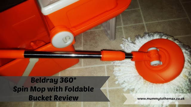 Beldray 360° Spin Mop with Foldable Bucket Review