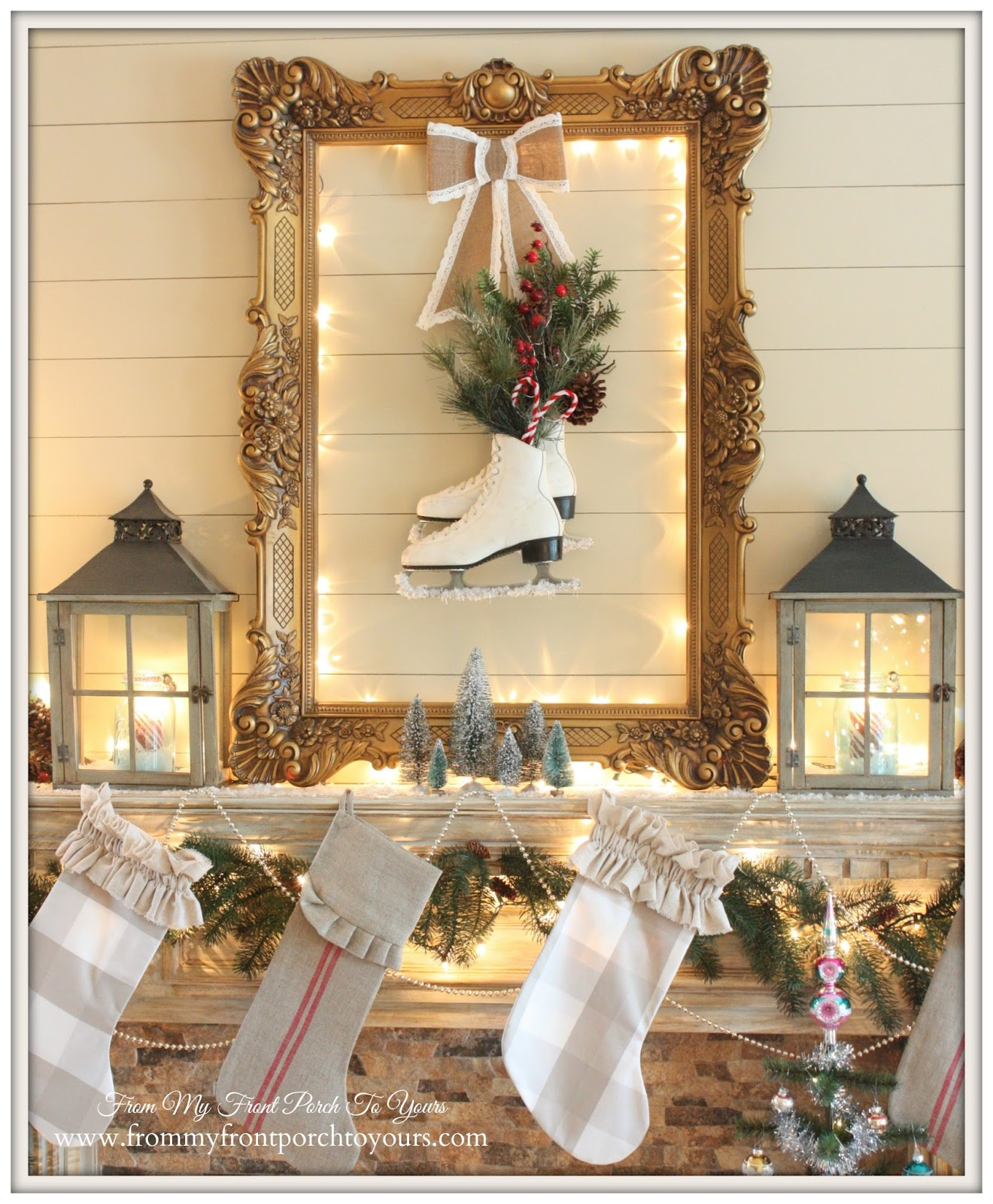 From My Front Porch To Yours: Christmas 2014 Home Tour