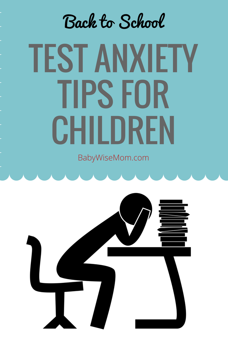 Test Anxiety Tips for Children