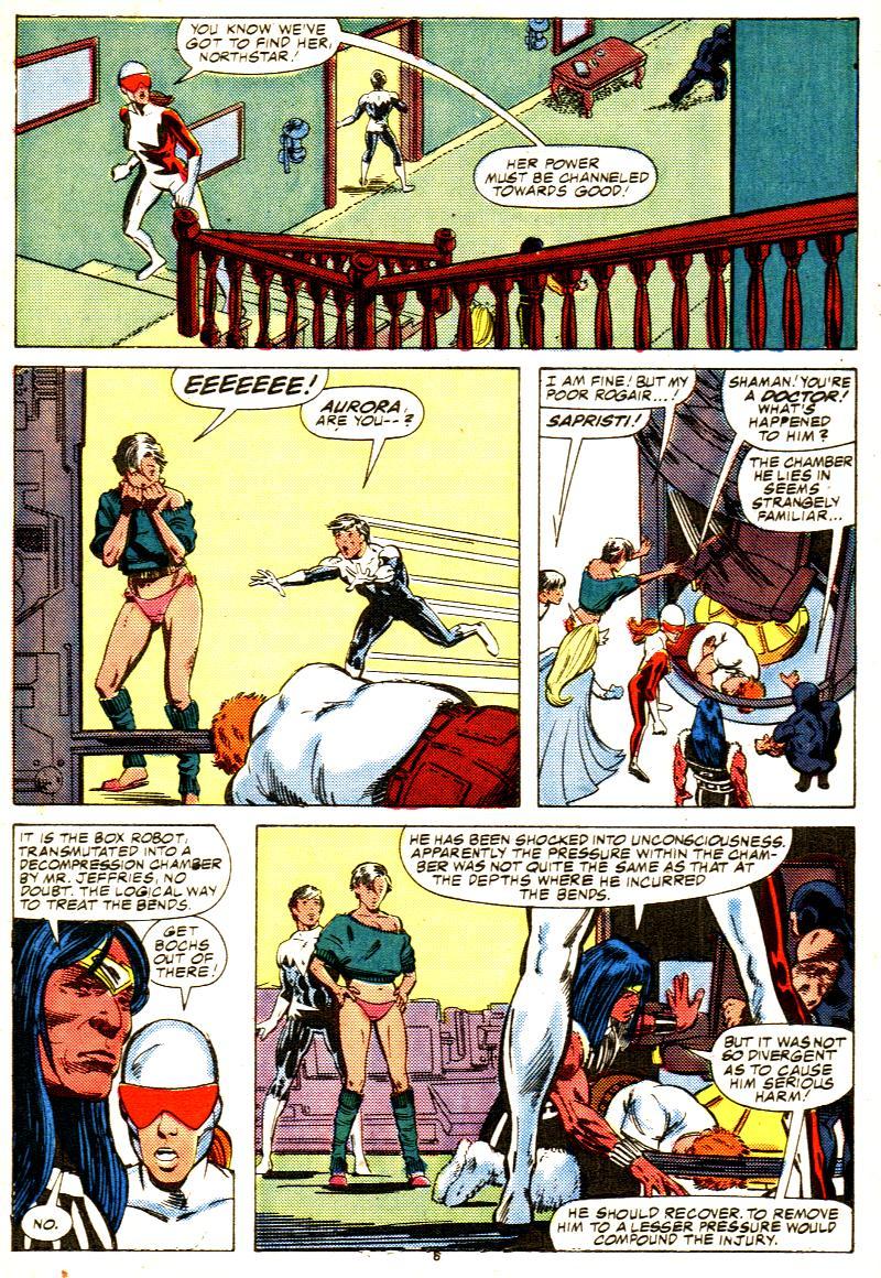 Read online Alpha Flight (1983) comic -  Issue #42 - 9