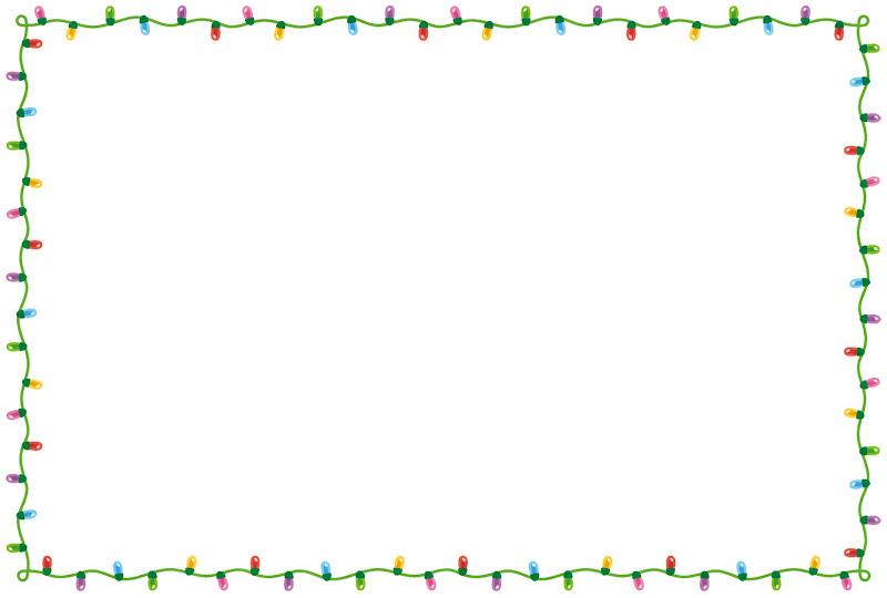 いろいろなクリスマスのフレーム素材 かわいいフリー素材集 いらすとや