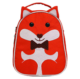 round little fox backpack made of recycled bottles
