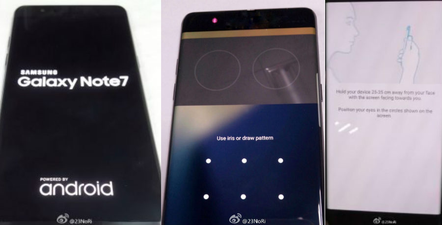 Here's the first look at Samsung Galaxy Note 7 iris ...