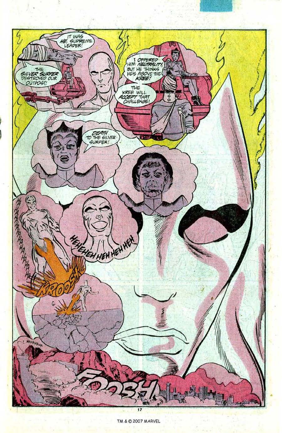 Read online Silver Surfer (1987) comic -  Issue #12 - 19