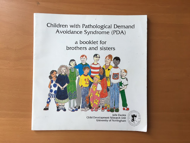 Children with Pathological Demand Avoidance Syndrome (PDA) - a booklet for brothers and sisters book cover