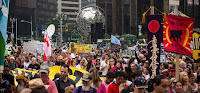 Organizers hope the next People's Climate March in Washington rivals the turnout of the one in New York in 2014, when more than 400,000 people rallied for climate action. (Credit: Getty Images) Click to Enlarge.