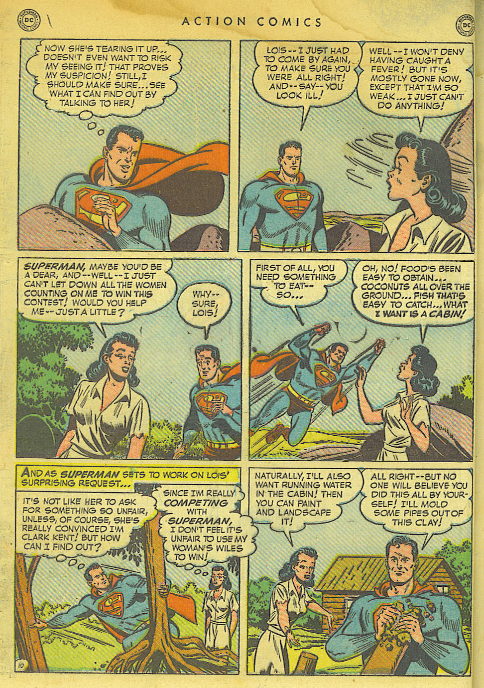 Action Comics (1938) 154 Page 11