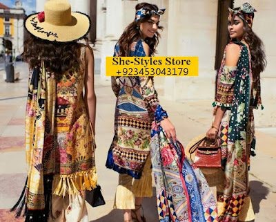 Shehla Chatoor Luxury Lawn Eid Collection 2017