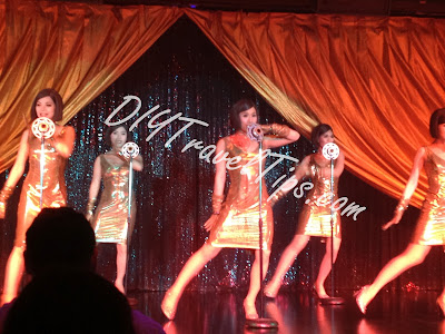 Calypso Cabaret Wonder Girls performance