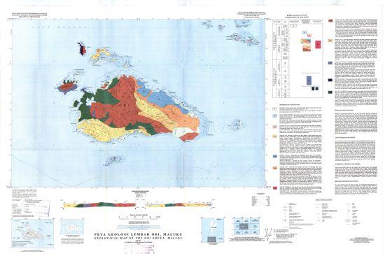 Peta Geologi Obi Halmahera : Download dan Resume