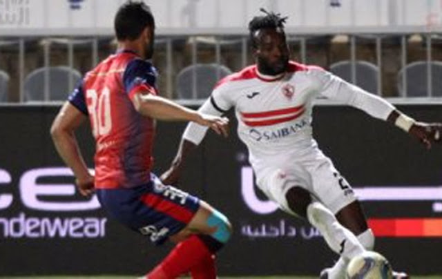 الزمالك يفوز بصعوبة على بتروجيت في الدوري العام المصري