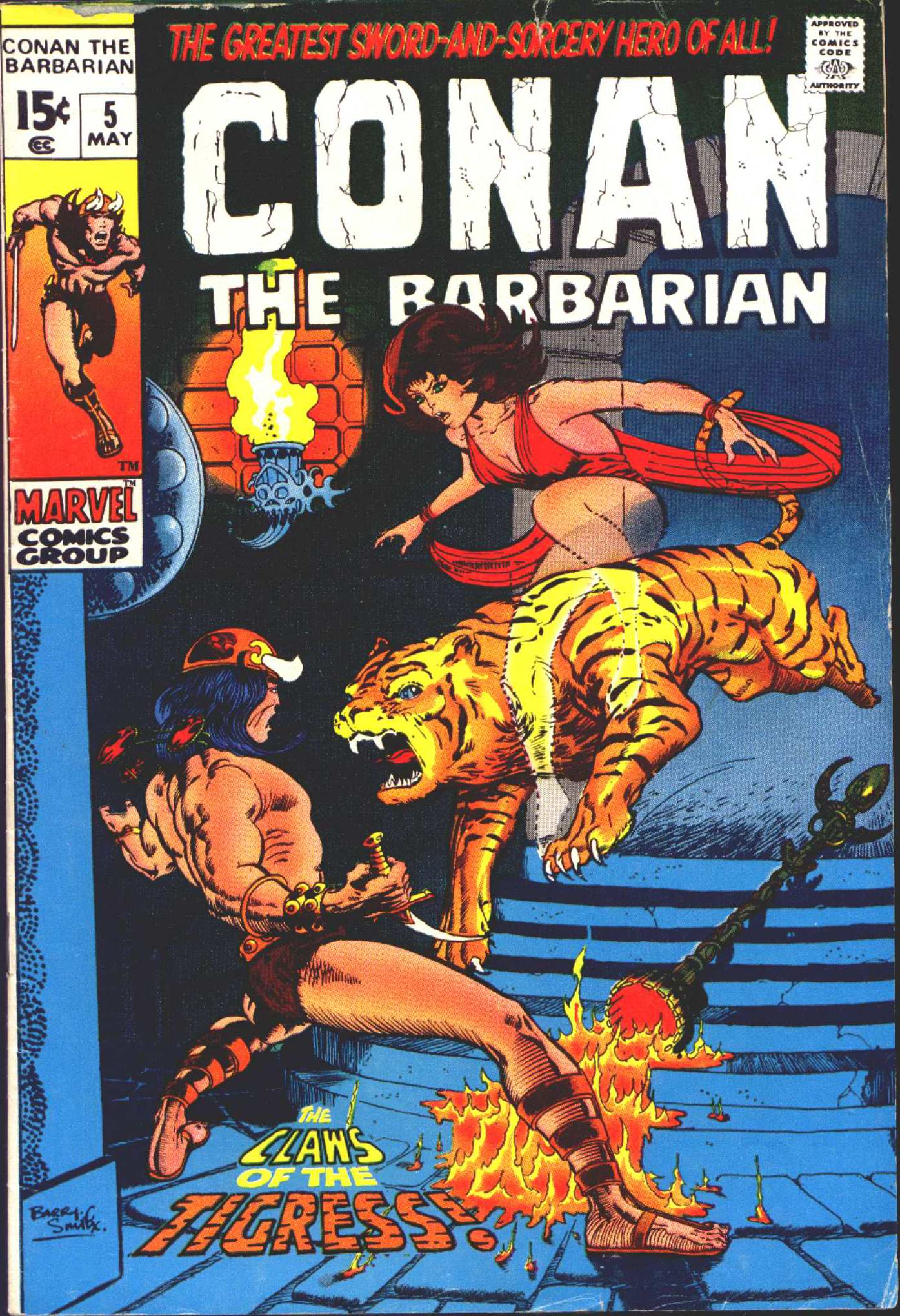 Conan the Barbarian (1970) Issue #5 #17 - English 1