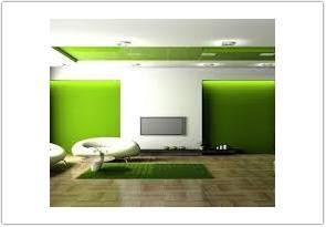 warna cat ruang tamu menurut feng shui hijau