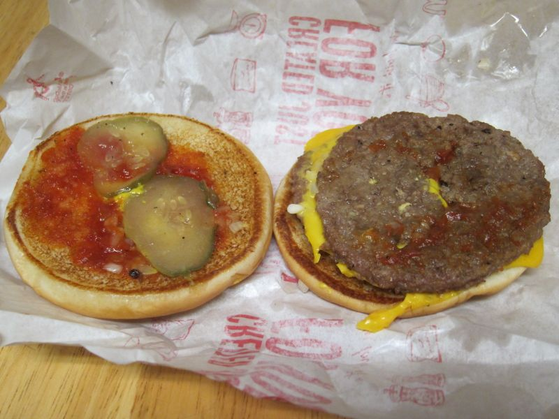 Review: McDonald's - McDouble | Brand Eating