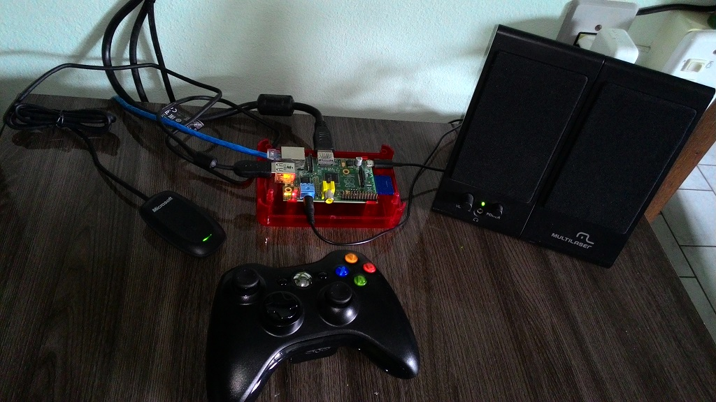 raspberry pi emulador videogame