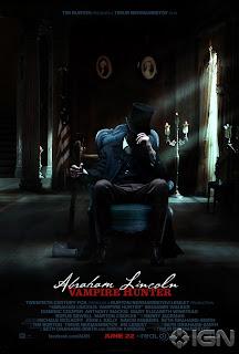 """News: Assista Ao Primeiro Trailer De """"Abraham Lincoln: Cacador De Vampiros"""" . 18"""