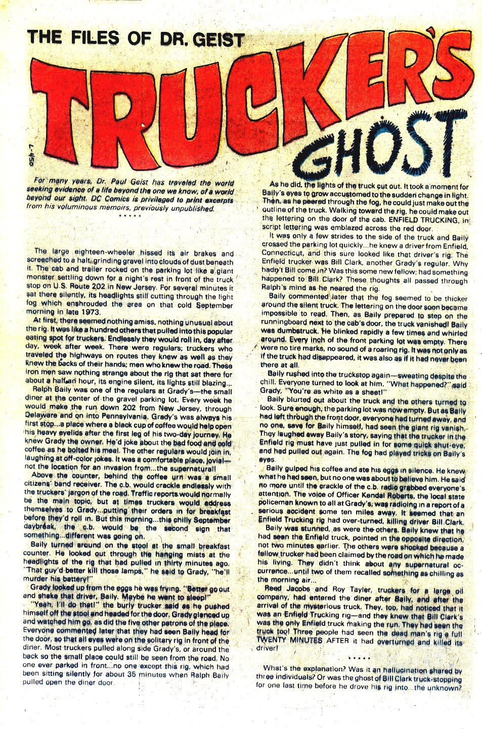 Read online Ghosts comic -  Issue #88 - 12
