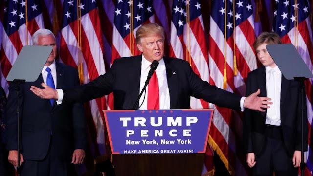 Trump tras resultados promete ser presidente de todo EEUU