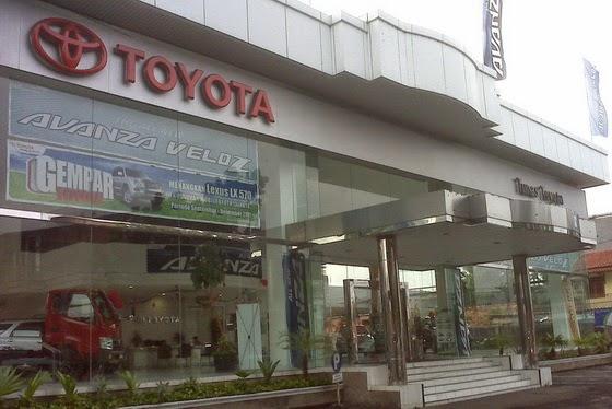 Tunas Toyota Kebayoran Lama, Jakarta Selatan