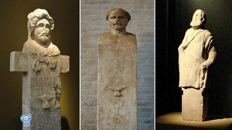 Οι ερμαϊκές στήλες «Ἑρμαῖ» στην Αρχαία Ελλάδα