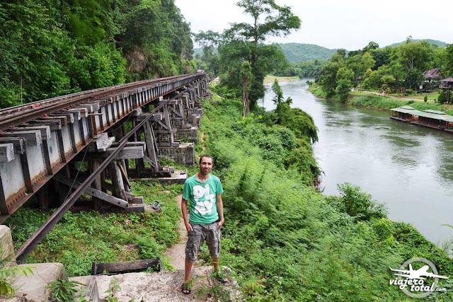 Tailandia - Tham Krasae - Tren de la muerte