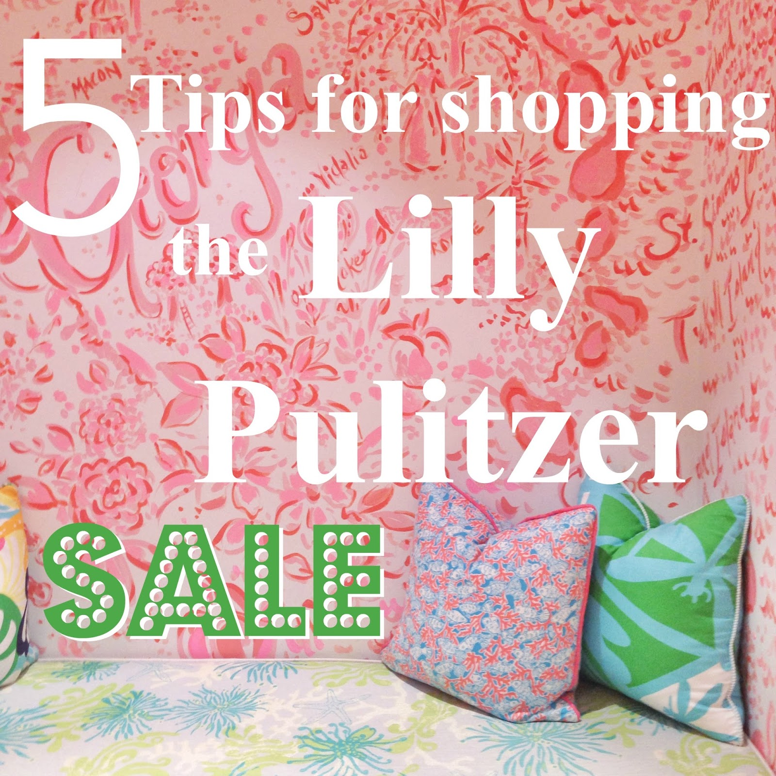 5 Tips for Shopping the Lilly Pulitzer Sale