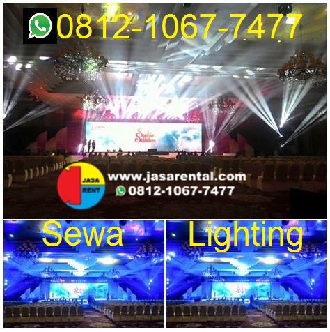 Sewa lighting murah