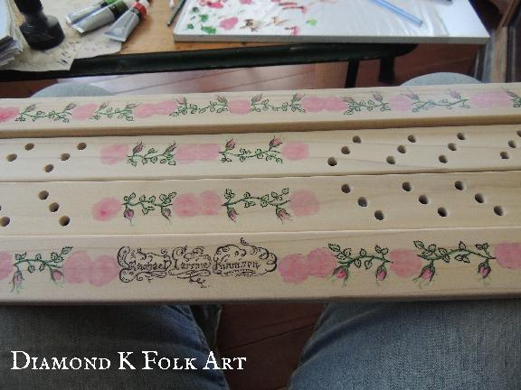 Lady S Repository Museum Amp Diamond K Folk Art Painting My