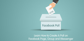 how to do a poll on facebook messenger