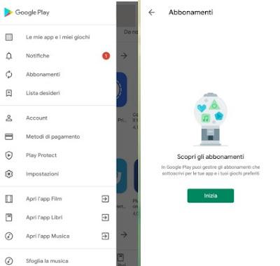 Abbonamento Google