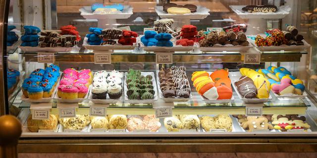 Doces da Confectionery no Magic Kingdom em Orlando