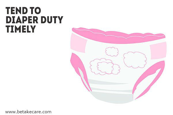 Tend to Diaper Duty Timely