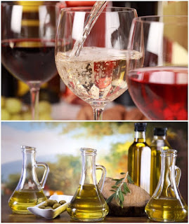 Wine and Olive Oil tasting