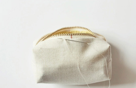 Mini Zippered Coin Purse Tutorial