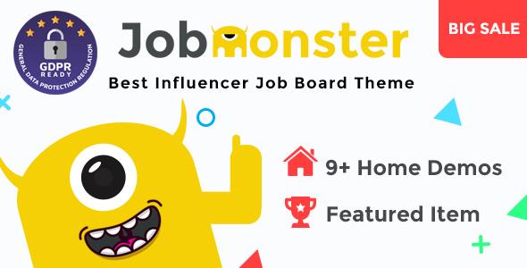 Job Board WordPress Theme Free Download Jobmonster v4.5.2.1 – Job Board WordPress Theme Free Download