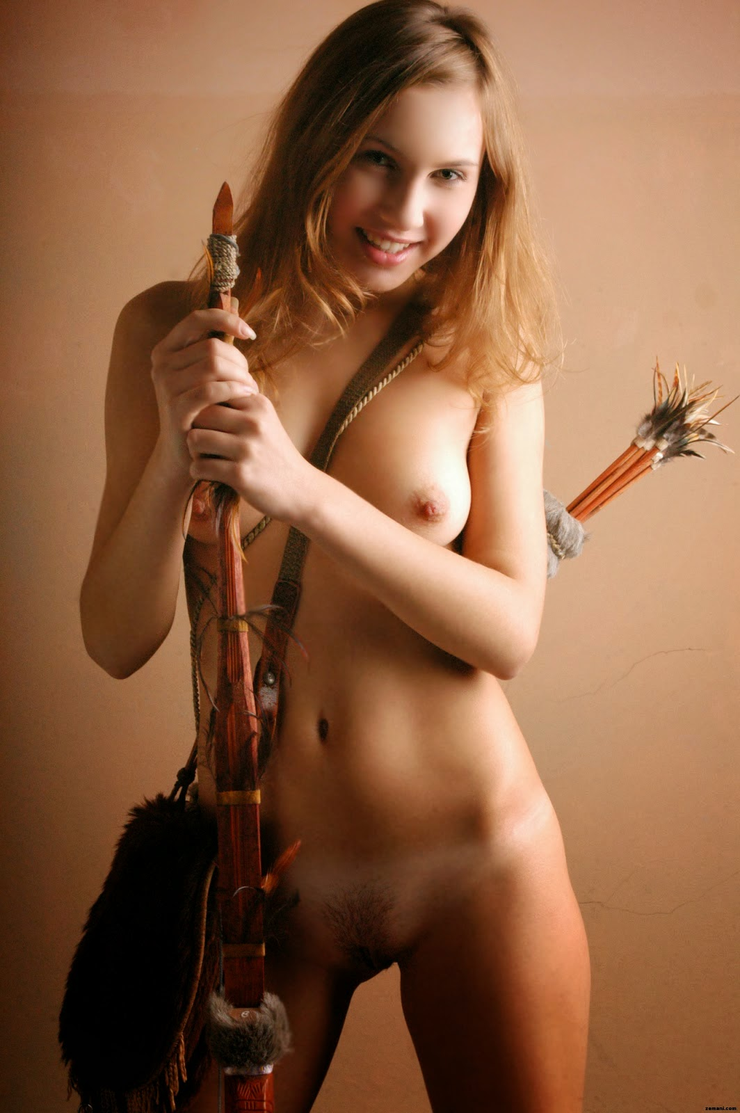 Naked Warrior Women