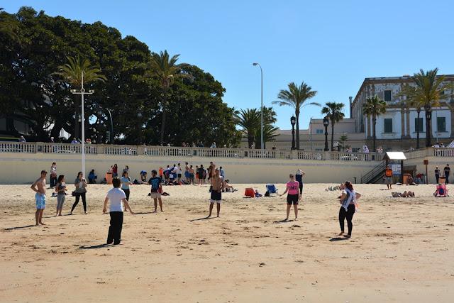 La Caleta Beach Cadiz