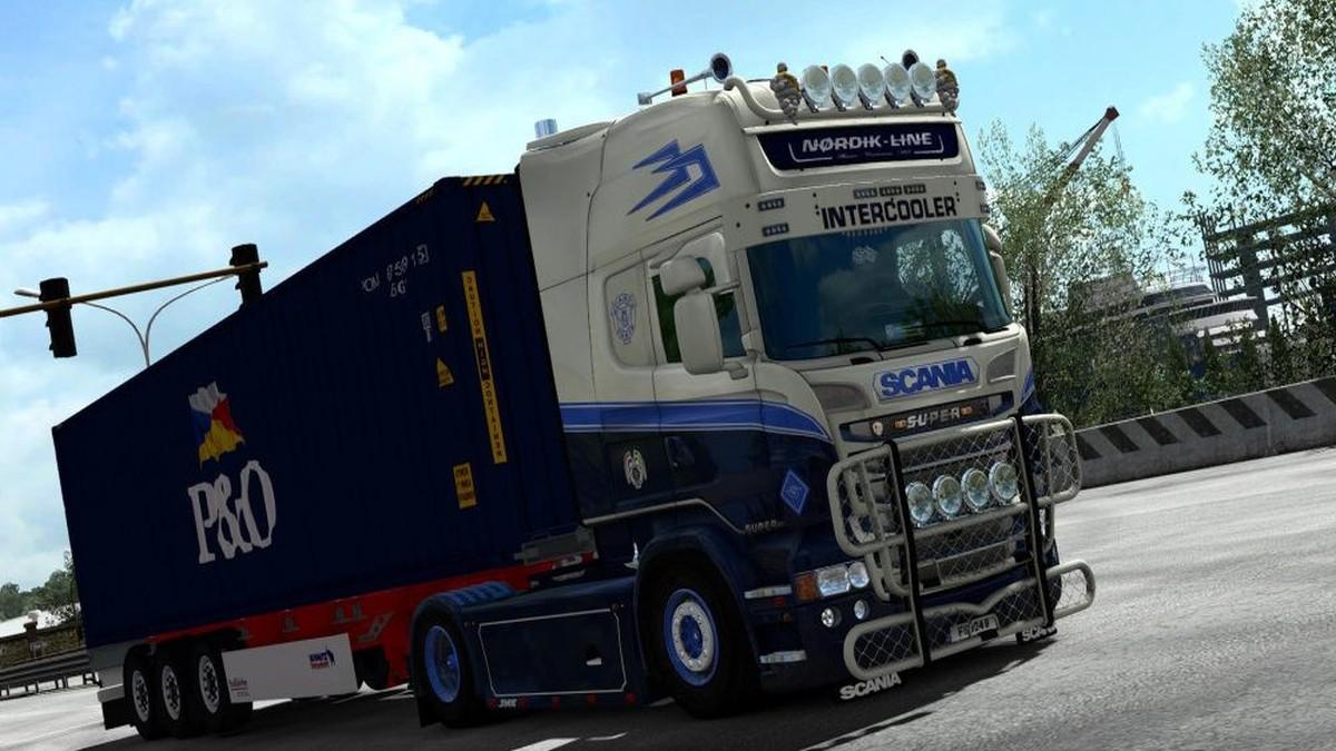 Nordik Line Skin for Scania RJL